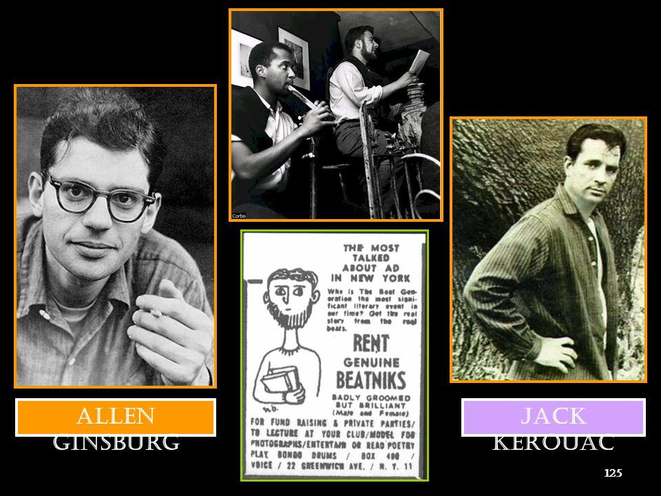 Allen Ginsburg Jack Kerouac