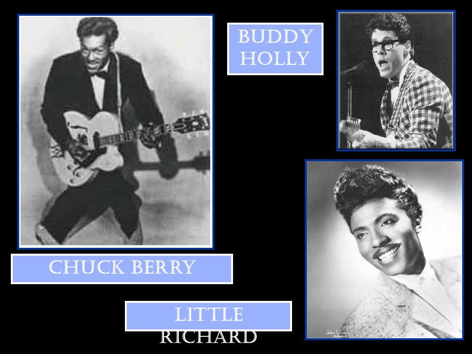Buddy Holly Chuck Berry Little Richard
