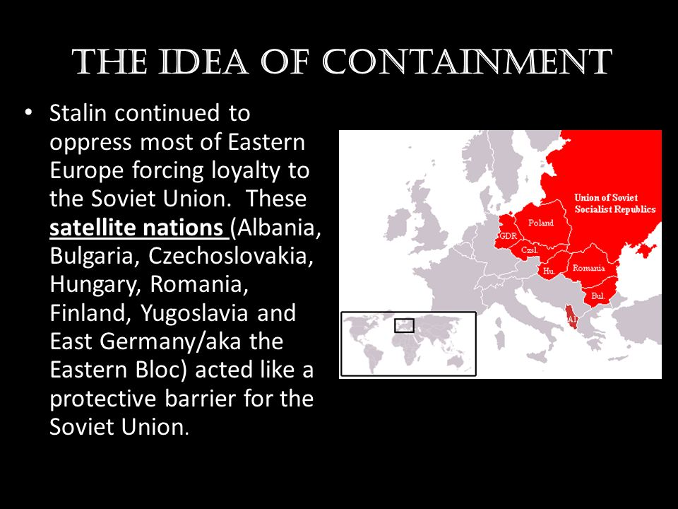 The idea of containment