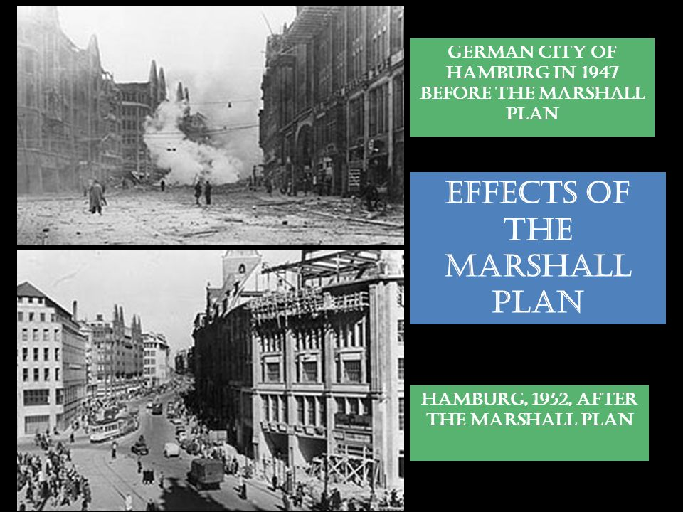 EFFECTS OF THE MARSHALL PLAN