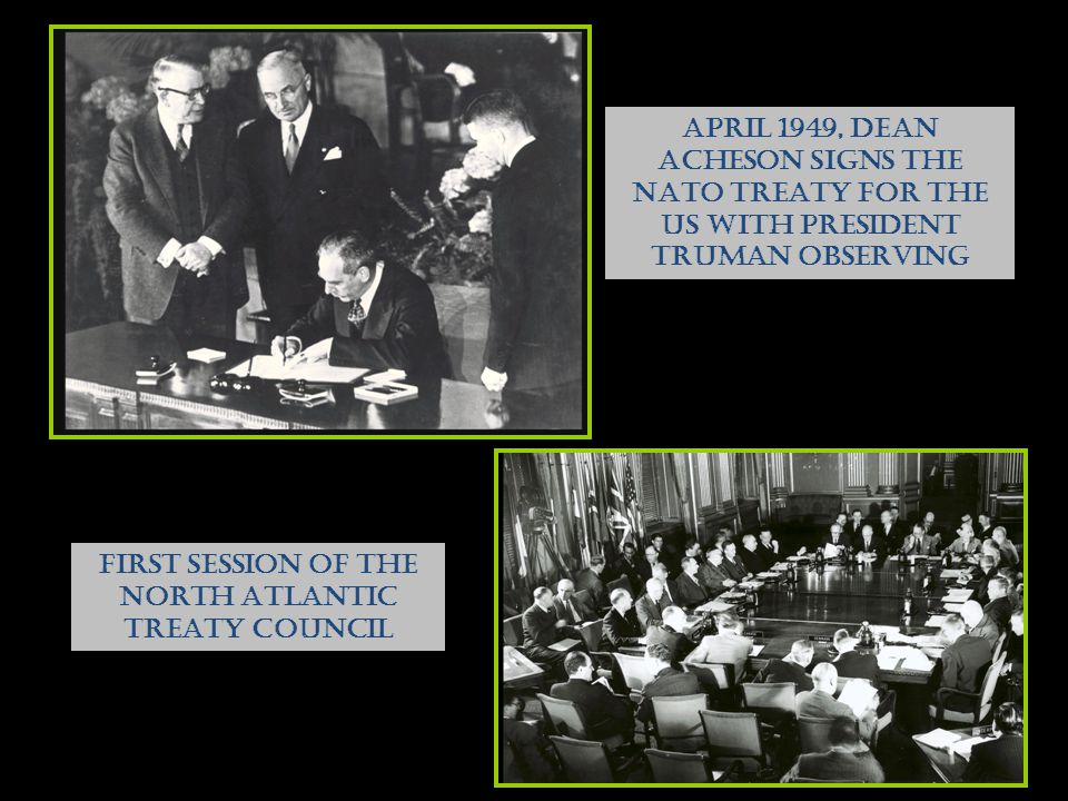FIRST SESSION OF THE NORTH ATLANTIC TREATY COUNCIL