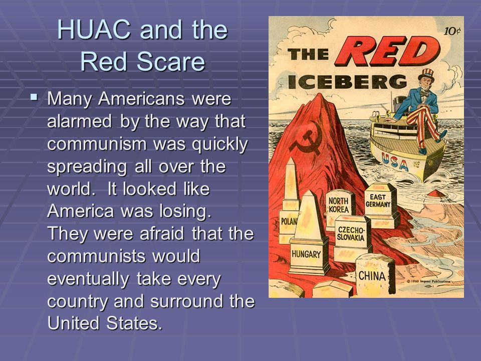 HUAC and the Red Scare
