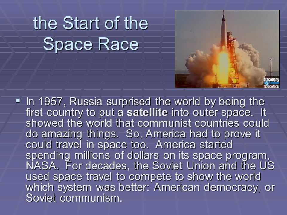 the Start of the Space Race