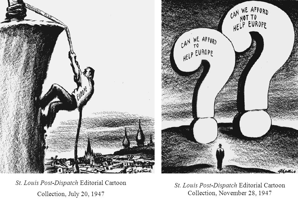 St. Louis Post-Dispatch Editorial Cartoon Collection, July 20, 1947