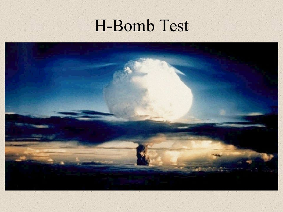 H-Bomb Test