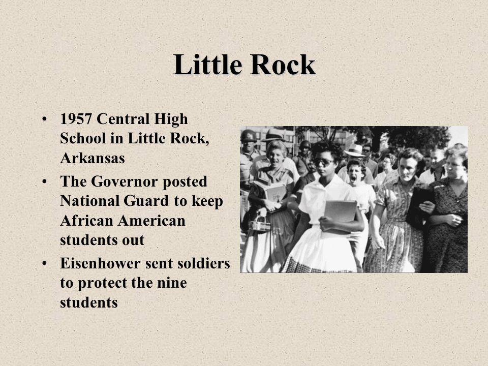 Little Rock 1957 Central High School in Little Rock, Arkansas