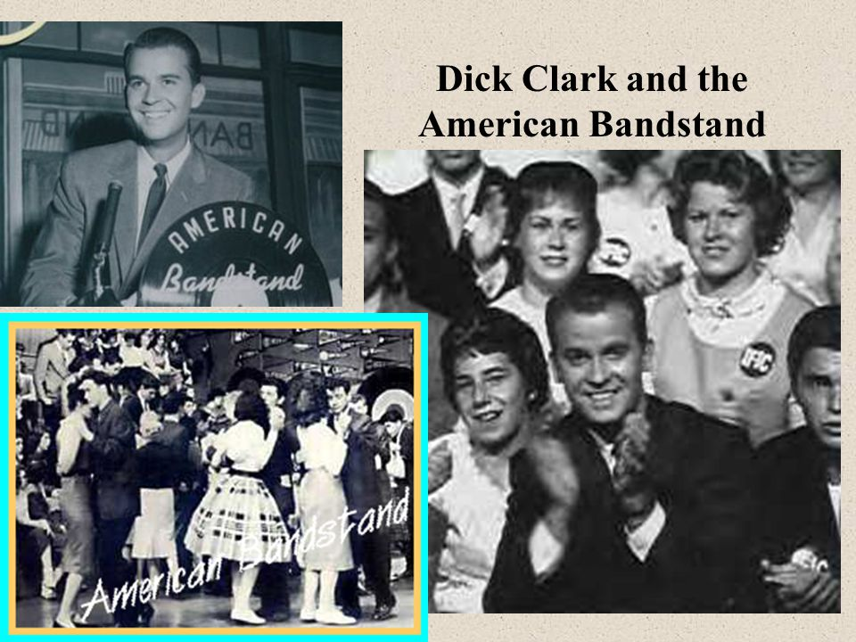 Dick Clark and the American Bandstand