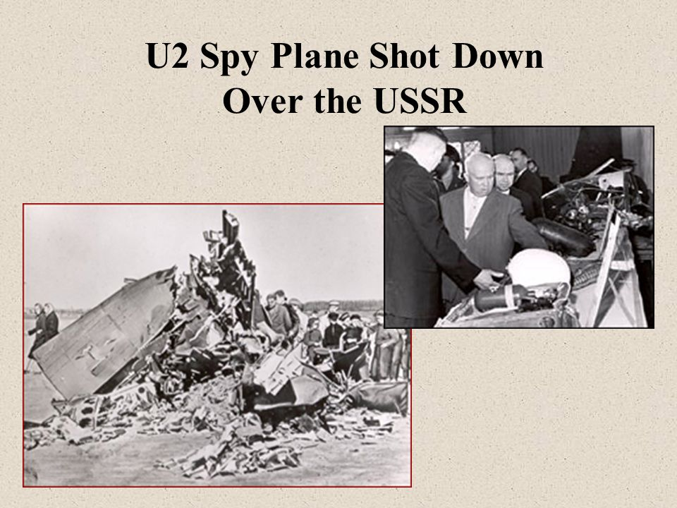 U2 Spy Plane Shot Down Over the USSR