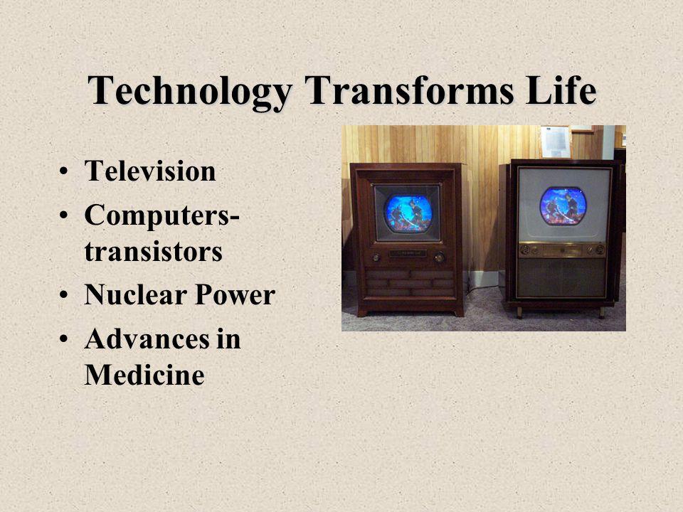 Technology Transforms Life