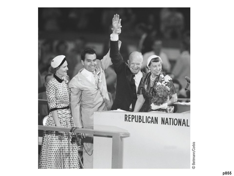 The Republicans' Choice, 1952 Nominee Eisenhower