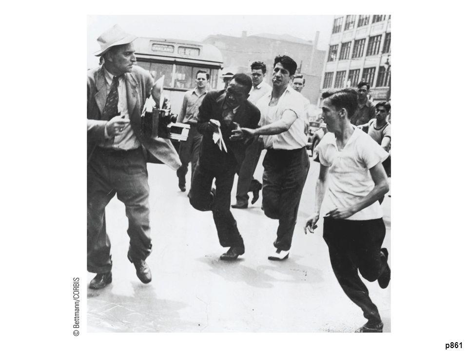Detroit Race Riot, 1943 R acial tensions over housing