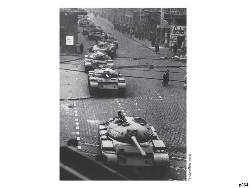 Hungarian Uprising, October 26, 1956 Soviet tanks