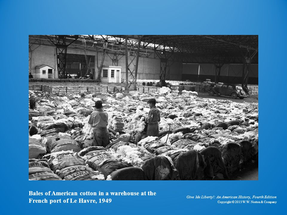 Photo of Cotton in Warehouse