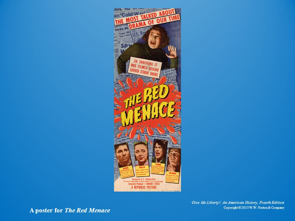 Poster for The Red Menace