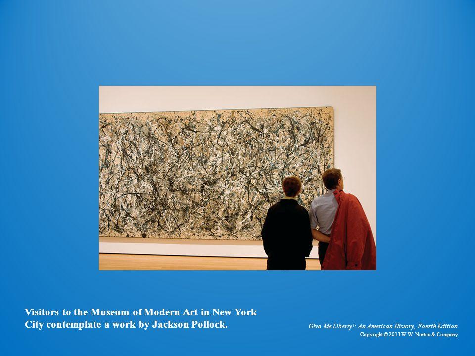 Photo of Jackson Pollock Painting