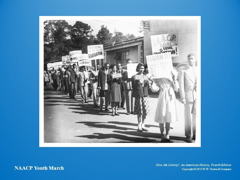 Photo of NAACP Youth March