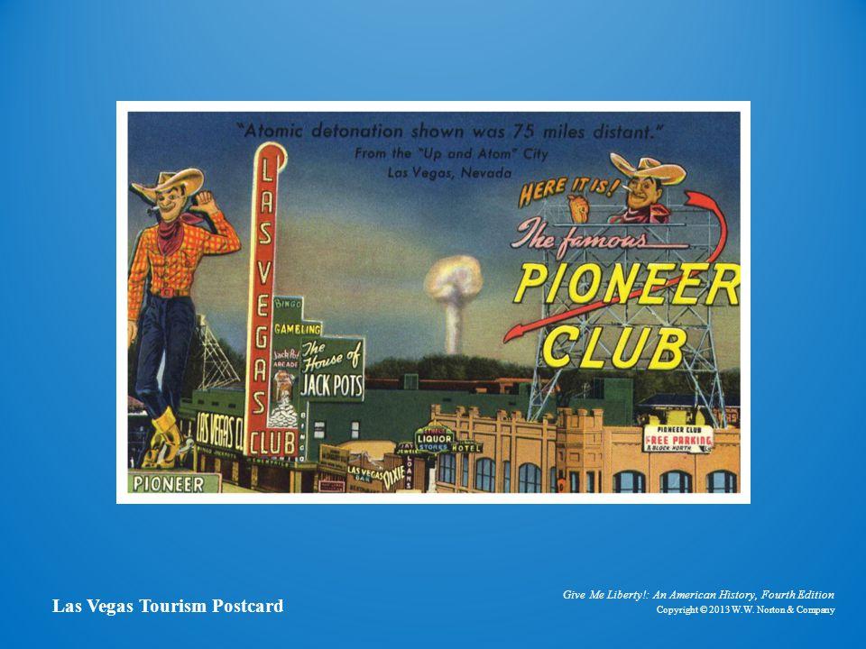 Postcard of Las Vegas Las Vegas Tourism Postcard