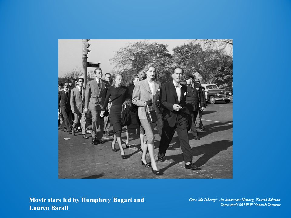 Photo of Movie Stars Movie stars led by Humphrey Bogart and