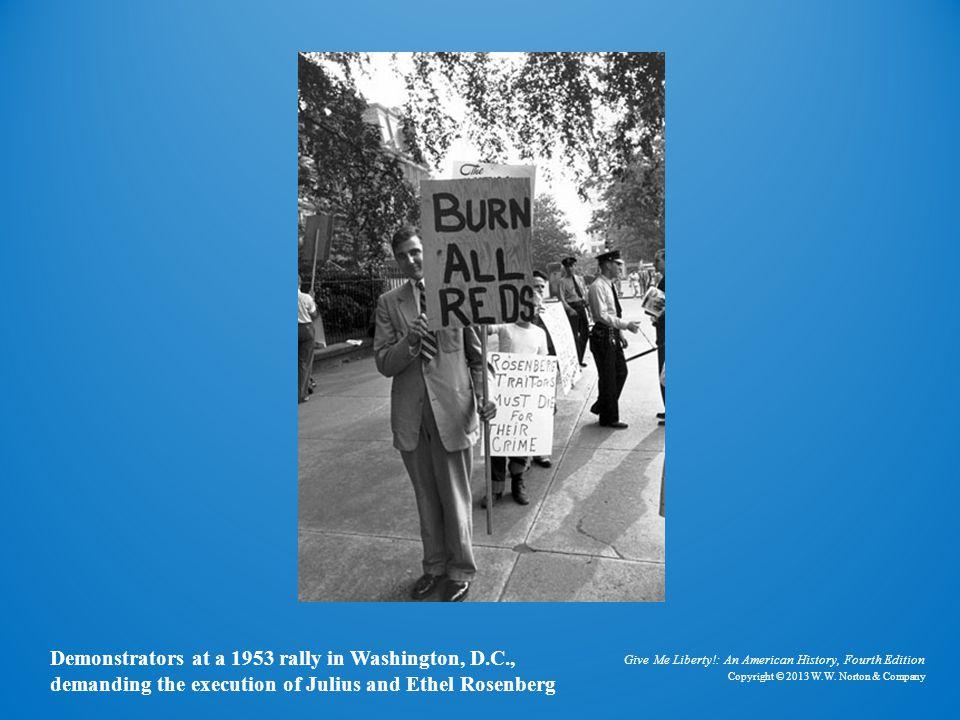 Photo of Anticommunist Demonstrators