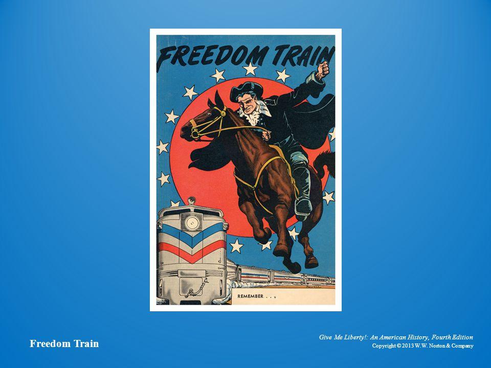 Freedom Train Comic Book Cover