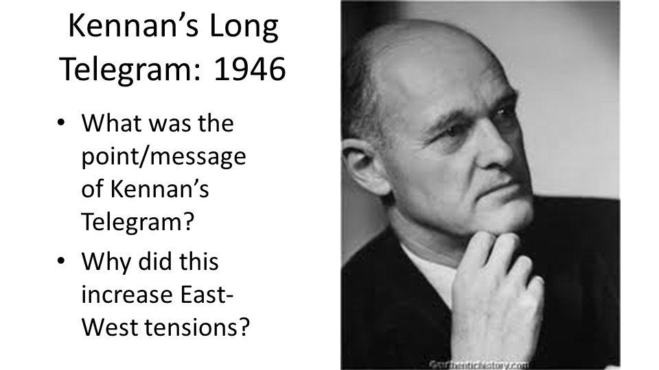 Kennan's Long Telegram: 1946