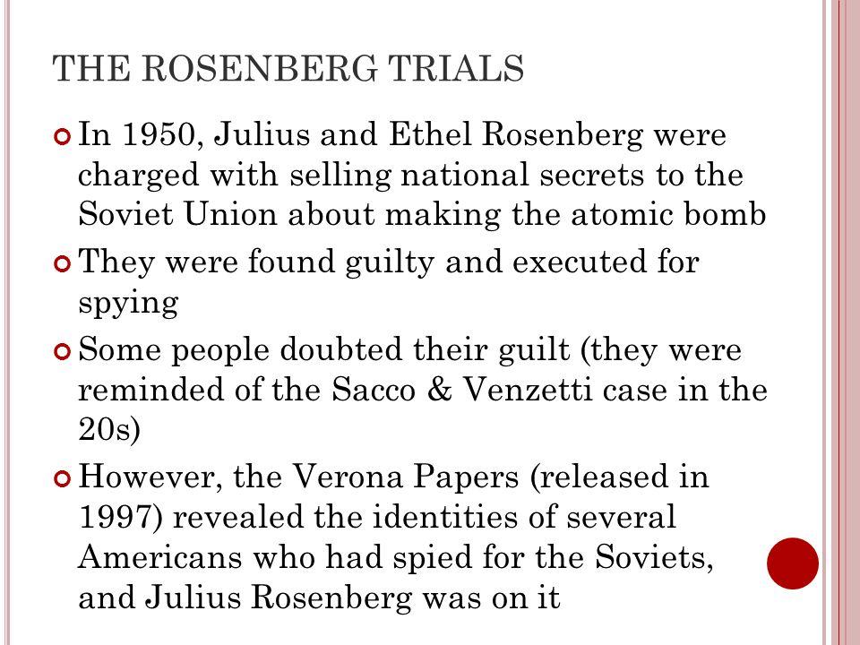 THE ROSENBERG TRIALS