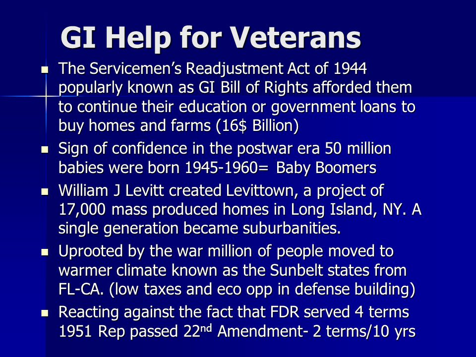 GI Help for Veterans