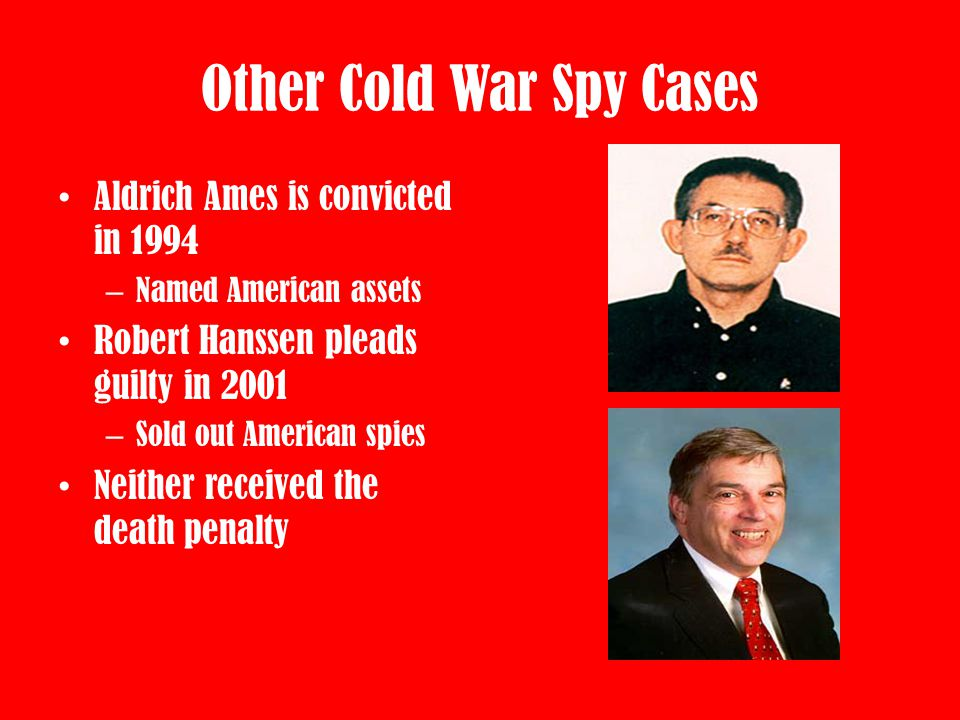 Other Cold War Spy Cases