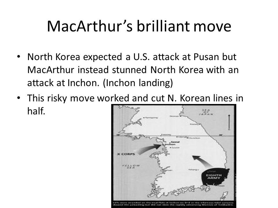 MacArthur's brilliant move