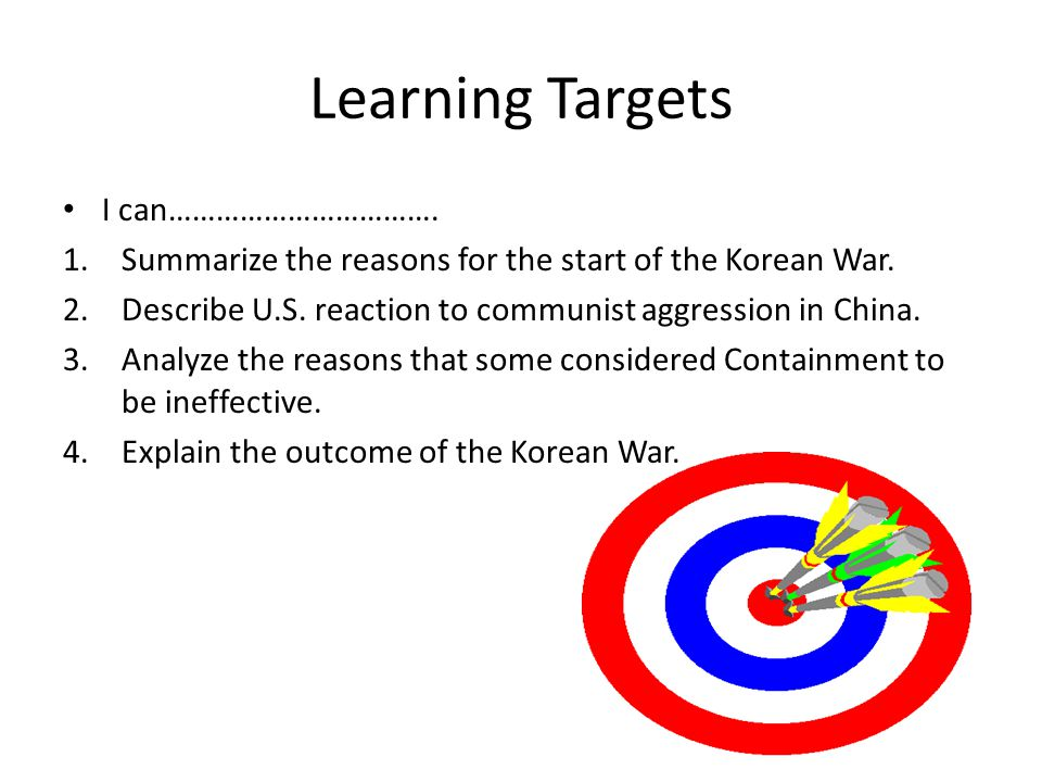 Learning Targets I can…………………………….