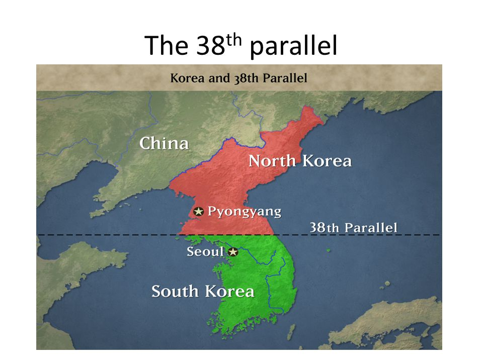 The 38th parallel
