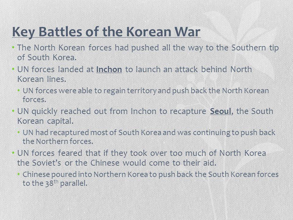 Key Battles of the Korean War