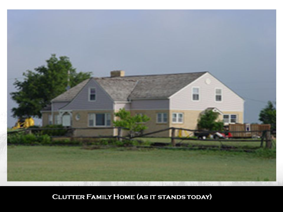 Clutter Family Home (as it stands today)
