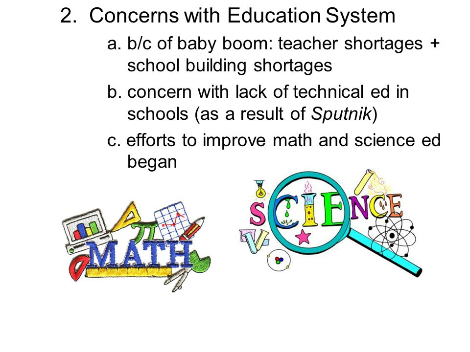 2. Concerns with Education System
