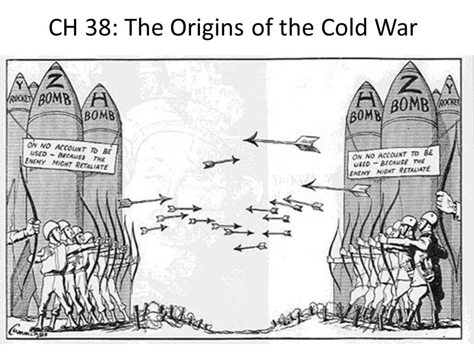 CH 38: The Origins of the Cold War