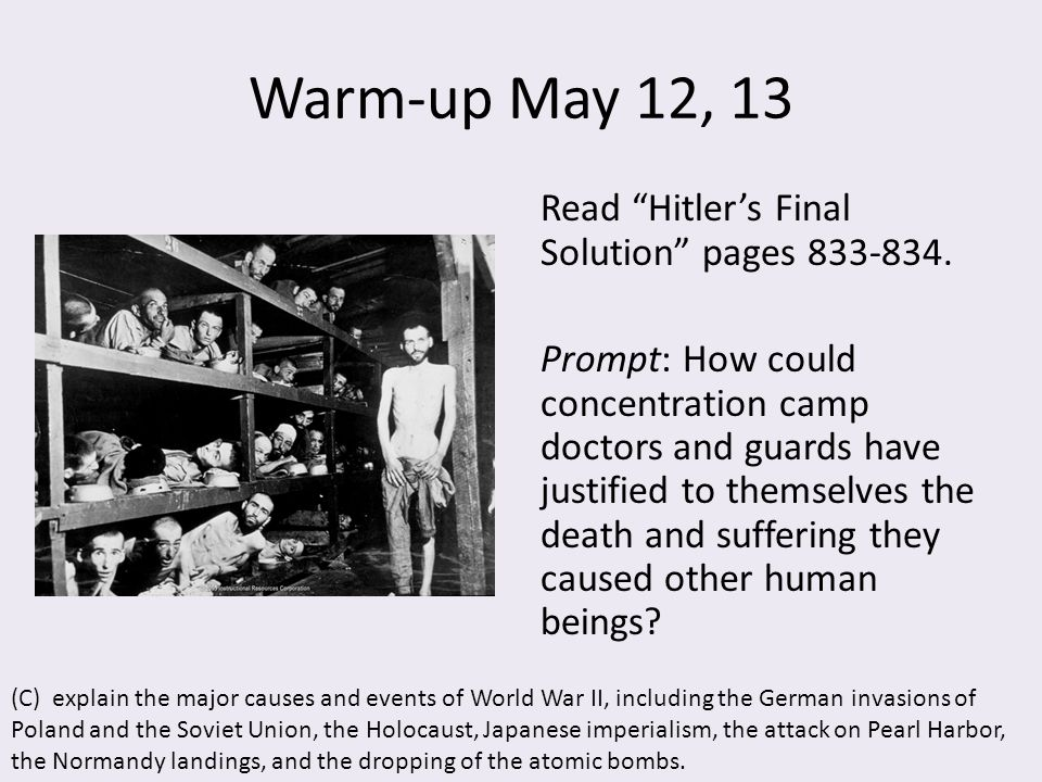 the main causes of the holocaust history essay Good essay topics about the holocaust: 20 unique examples the holocaust is one of the biggest tragedies of the 20th century it has plundered an entire nation, has taken millions of lives, and has changed the history of the mankind.