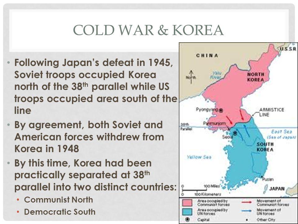 Cold war & Korea