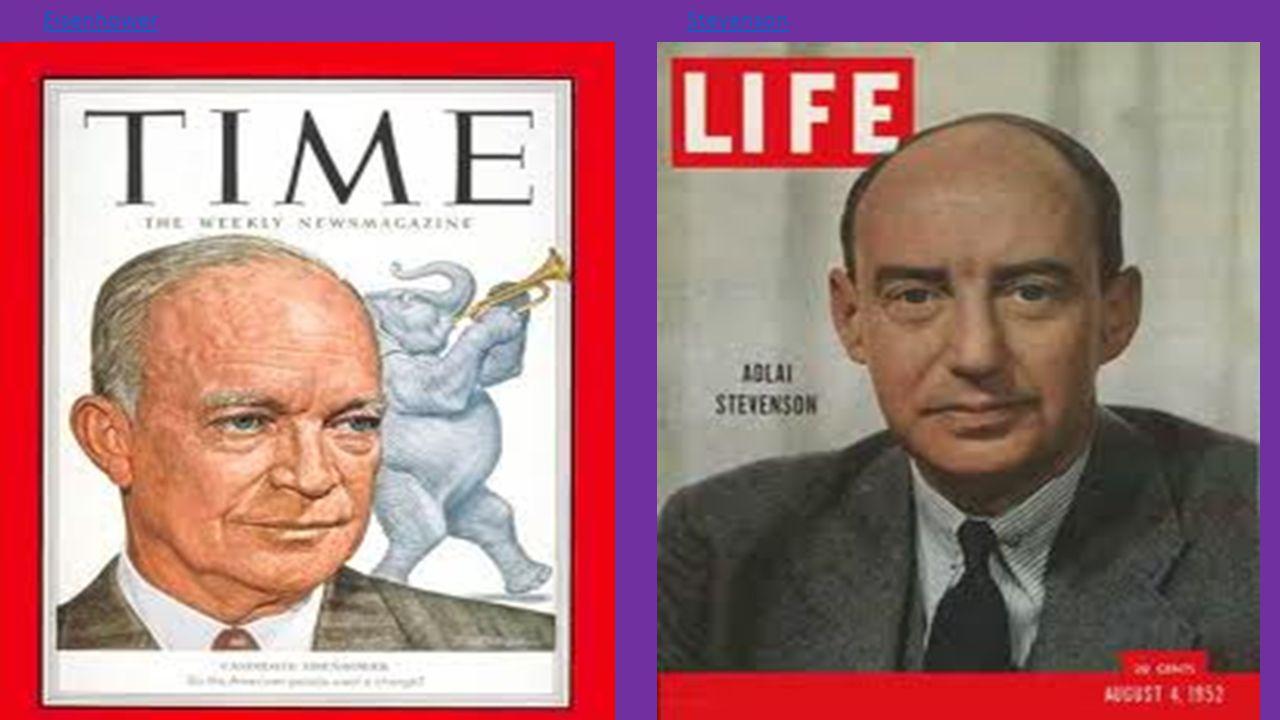 Eisenhower Stevenson