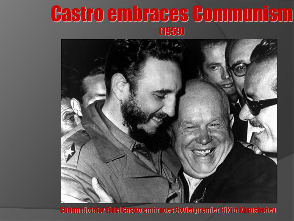 Castro embraces Communism