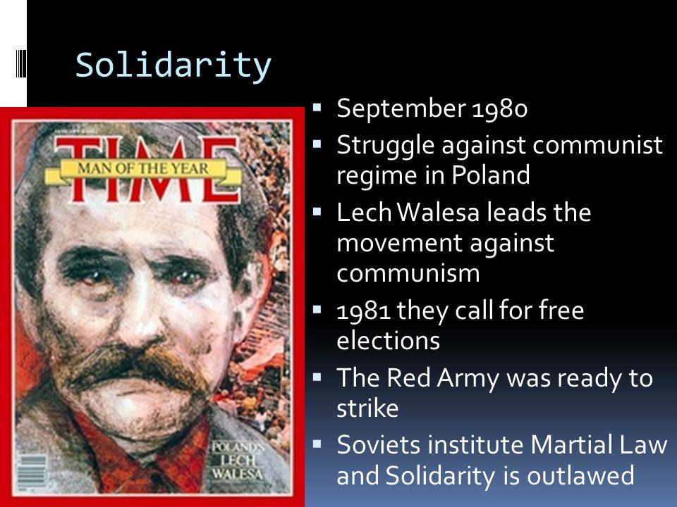 Solidarity September 1980 Struggle against communist regime in Poland