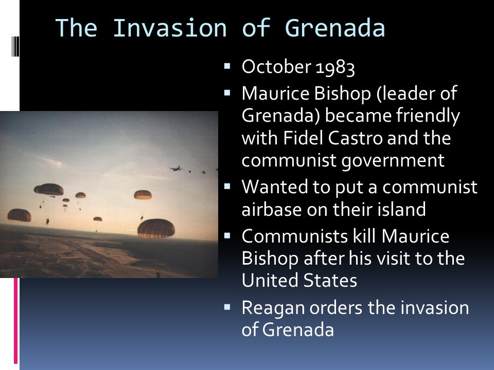 The Invasion of Grenada