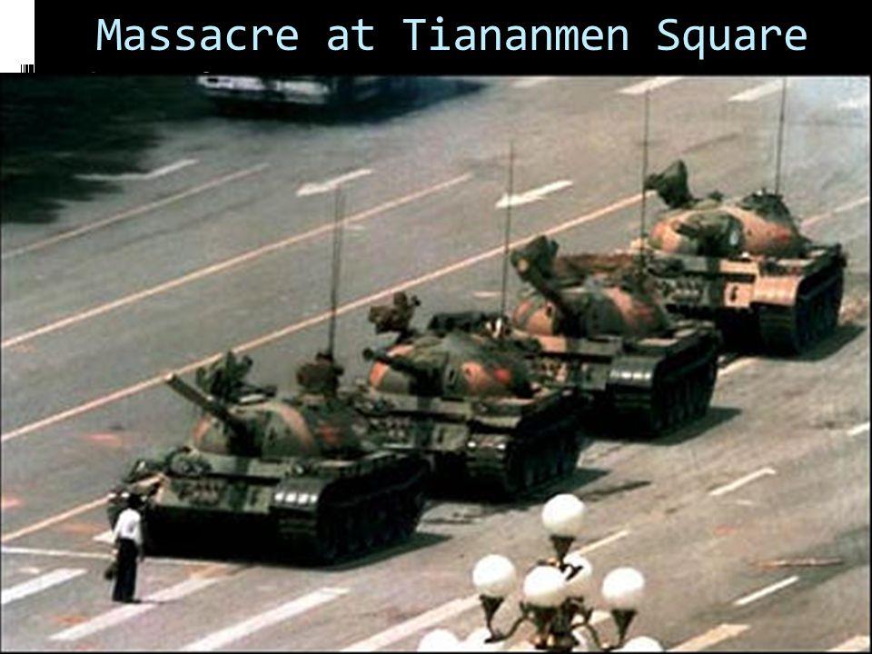 Massacre at Tiananmen Square