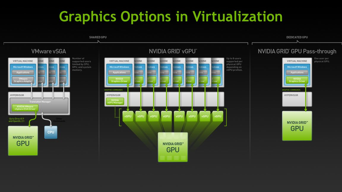 Graphics Options in Virtualization