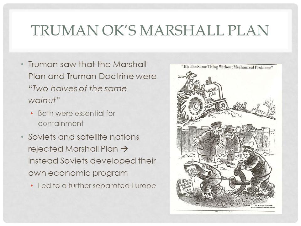 Truman OK's Marshall Plan