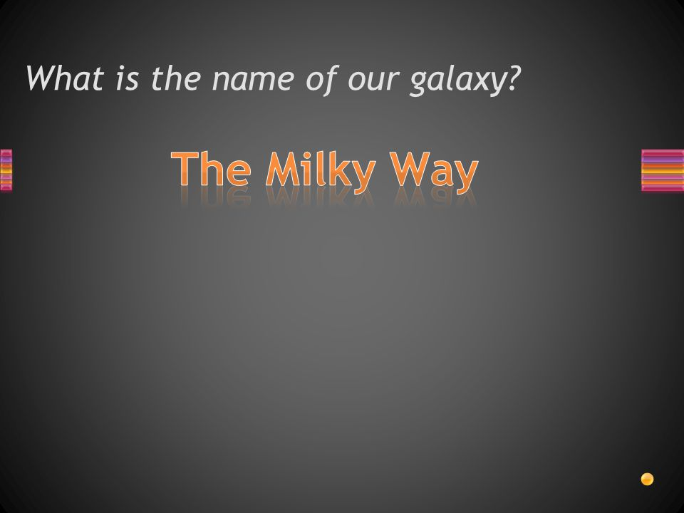 What is the name of our galaxy