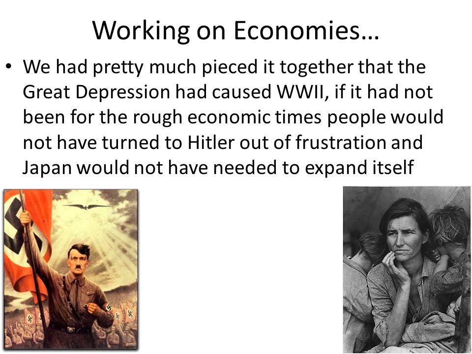 Working on Economies…