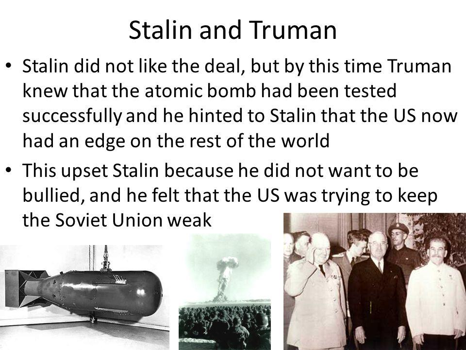 Stalin and Truman