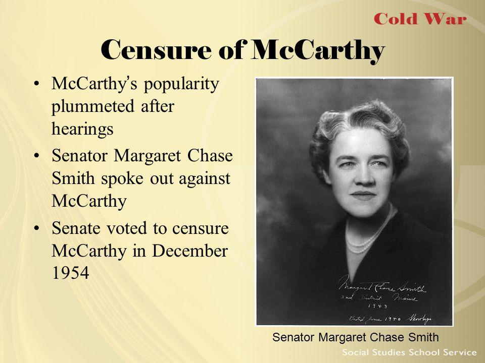 Senator Margaret Chase Smith