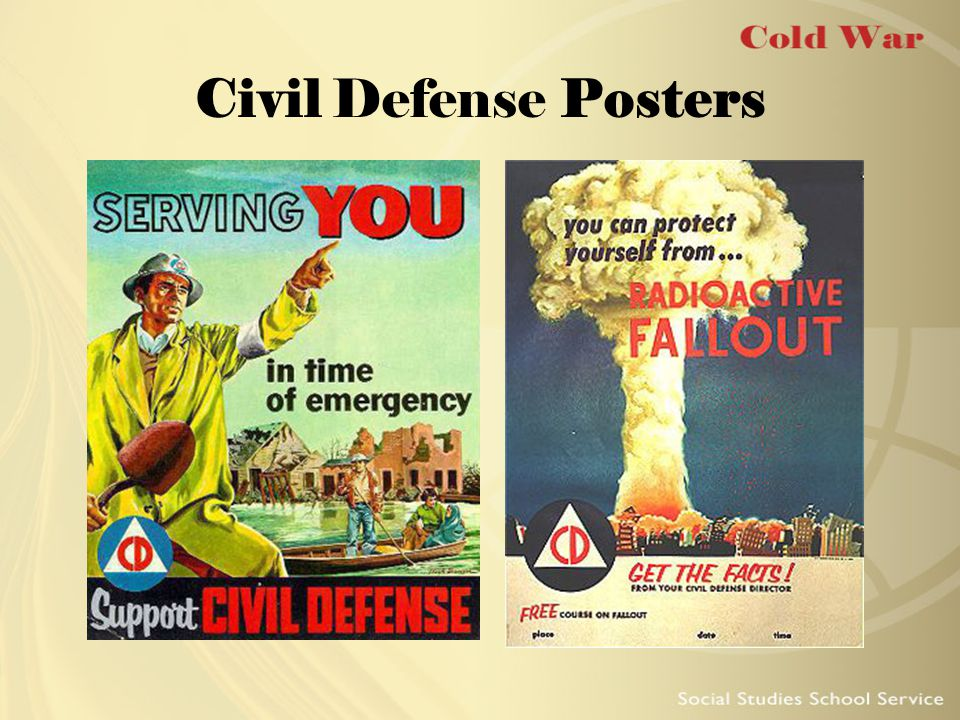 Civil Defense Posters