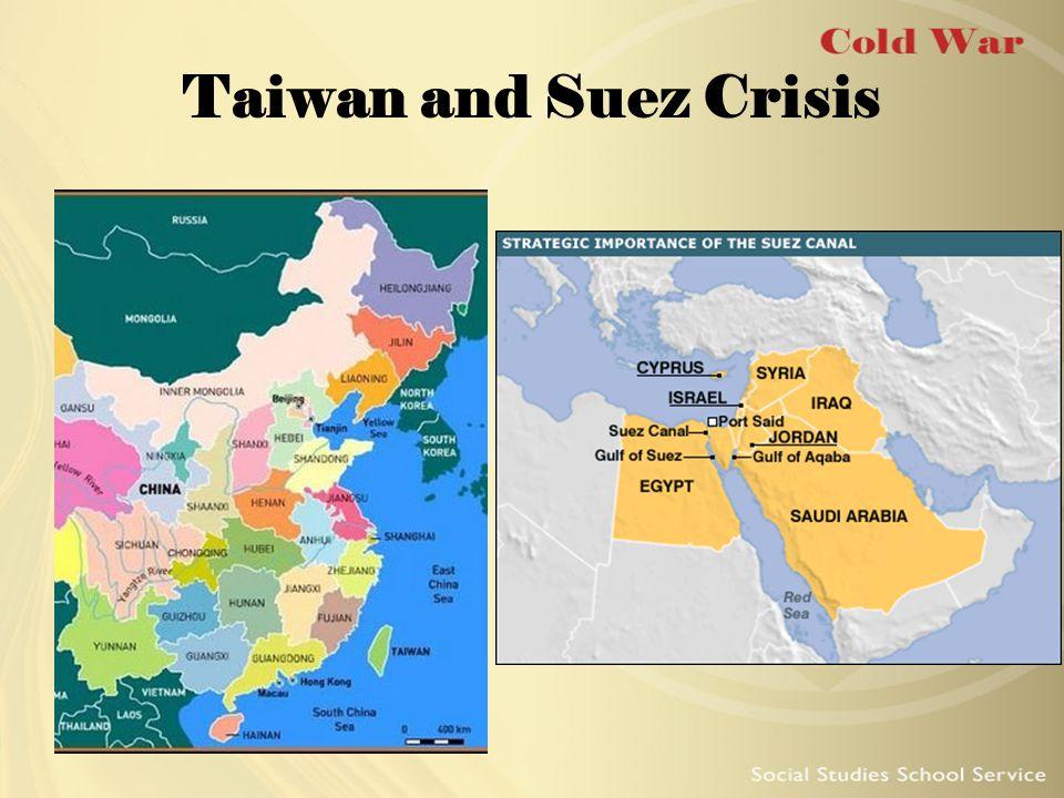 Taiwan and Suez Crisis
